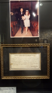 Johnny and June's marriage license